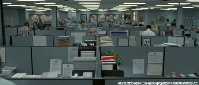 Office Cubical To The Cubicles From Office Space copyright Twentieth Century Fox Moral Life Of Cubicles New Atlantis