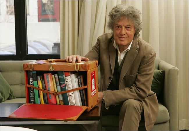 Tom Stoppard S Portable Bookshelf
