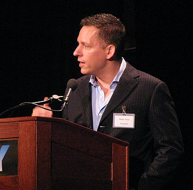Peter Thiel on the Singularity and economic growth