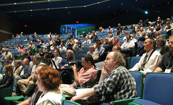 The audience at the 2010 H+ Summit at Harvard.