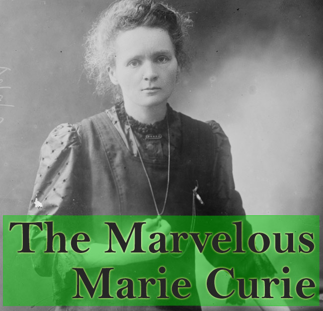 What age did marie curie die