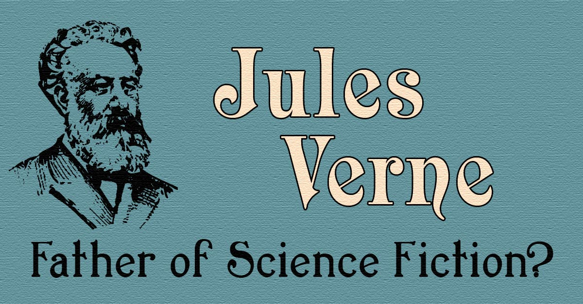 Science fiction writers including jules verne