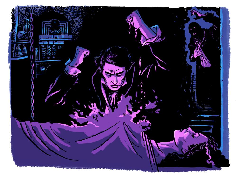 TNA54 - Foht - Frankenstein bride 1000w